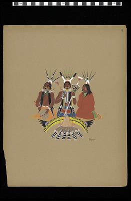 Kiowa Singers (Plate 12)