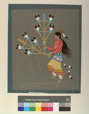 Navajo Feather Dancer