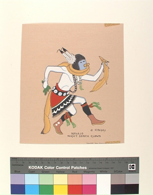 Navajo Night Dance Clown