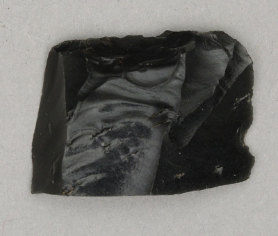 Obsidian Artifact Reject Projectile Point Base