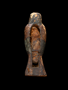 images for Falcon-Shaped Wooden Coffin, With Falcon Mummy-thumbnail 5