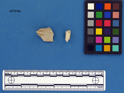 Lid and handle sherd