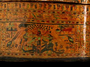 images for Inner Coffin & Lid Of Tentkhonsu-thumbnail 15