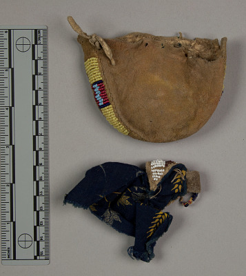 Toy Doll Cradle & Bag