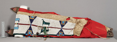 Cradle Frame And Beaded Portion