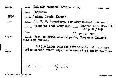 Buffalo Rawhide (Entire Hide)