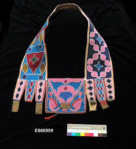 images for Bead Ornamented Tobacco-Pouch, Shoulder Bag-thumbnail 1