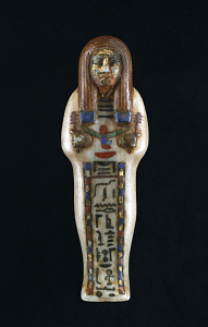 images for Shabti, Mummy Model Of Alabaster-thumbnail 1