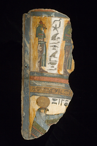 images for Fragment Of Mummy Coffin Cartonnage-thumbnail 1