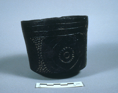 Clay Straight-Sided Pot