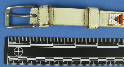 Child's Beaded Belt