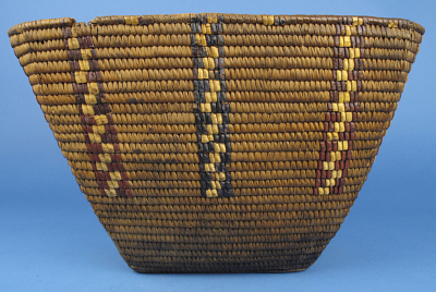 Coiled Imbricated Basket