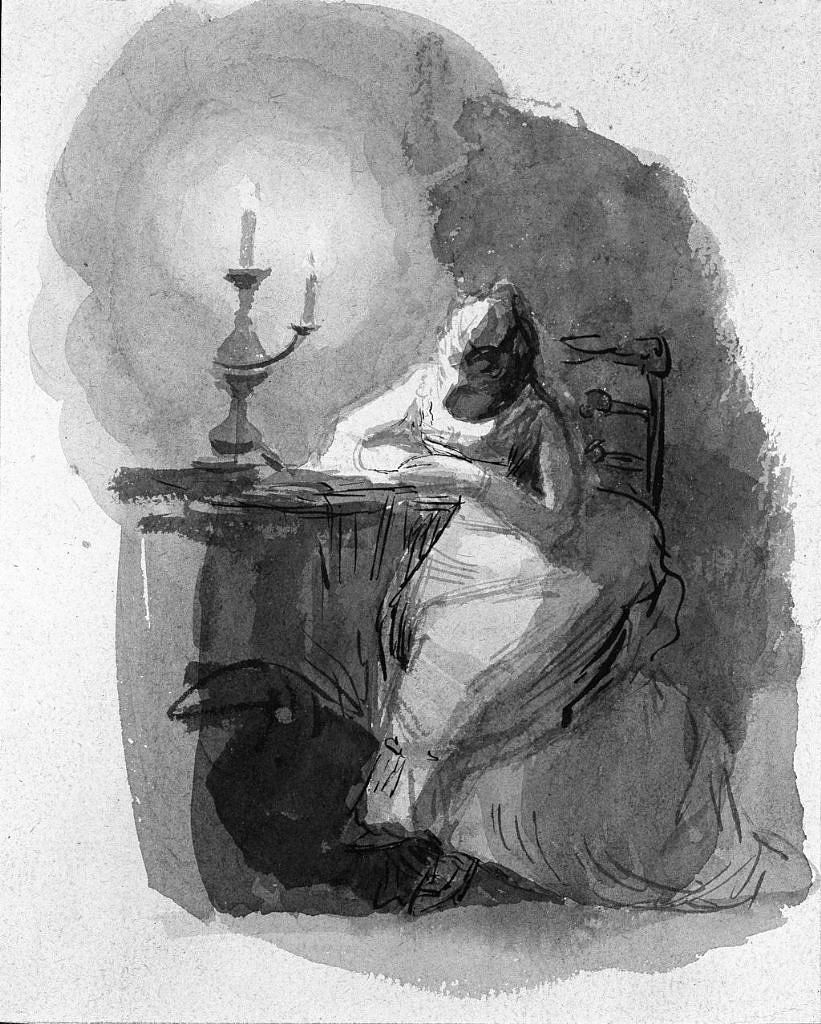 images for Woman Writing