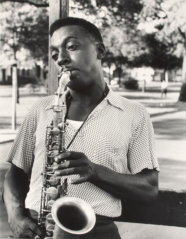 Image for (New Orleans Saxophonist on Truck)