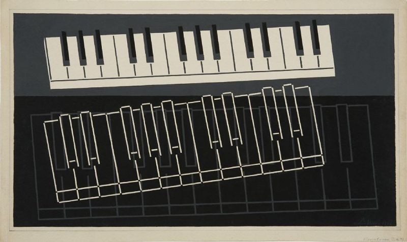 """Image for Final Study for """"Piano Keys"""""""