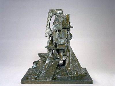 Cubist Bust (Head of a Man IV)