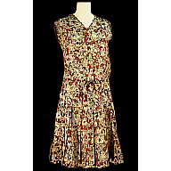 Cocoanut Grove Caricature Dress