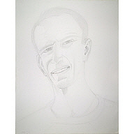 Image of Alex Katz Self-Portrait