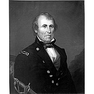 Portrait of General Zachary Y. Taylor (12th President of the United States)