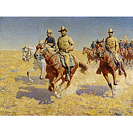 Image of Theodore Roosevelt and the Rough Riders
