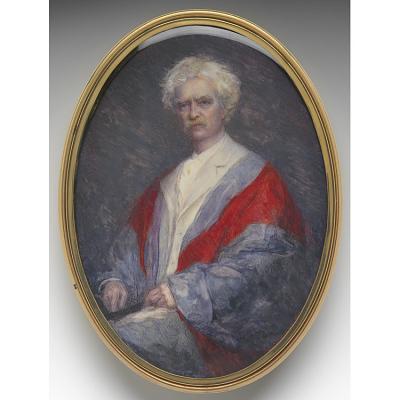 Samuel Clemens Portrait