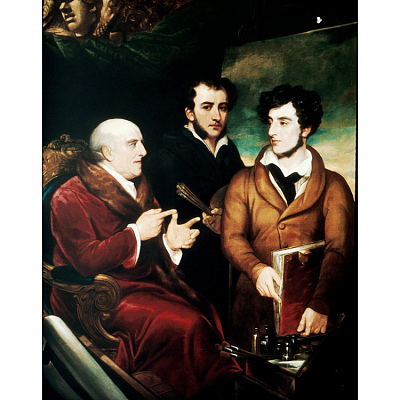 Benjamin West, Frank Wilkin and Henry Wilkin