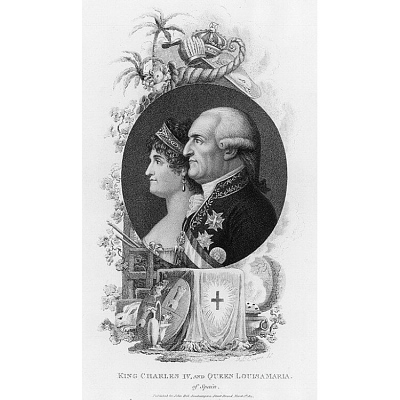 Charles IV and Louisa Maria