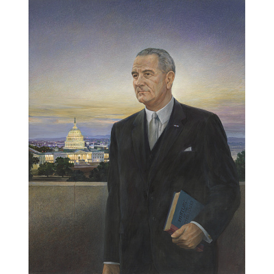 Lyndon B. Johnson Portrait