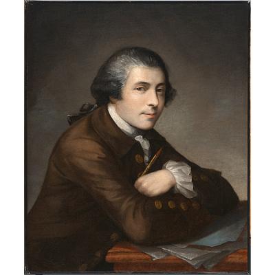 Matthew Pratt Self-Portrait