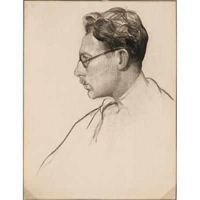 Leopold Gould Seyffert Self-Portrait