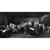 Image of Declaration of Independence diorama