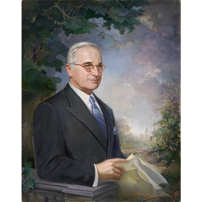 Harry S Truman Portrait