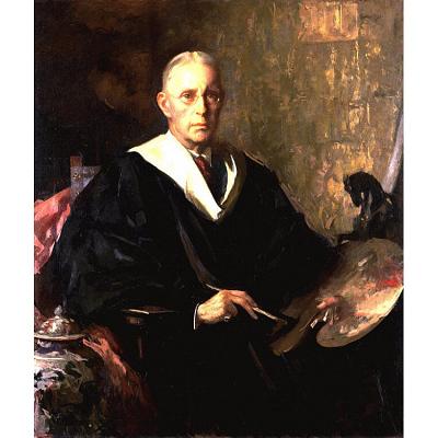 Edmund Charles Tarbell Self-Portrait