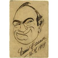 Enrico Caruso Self-Portrait