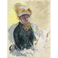 Image of Mary Cassatt Self-Portrait