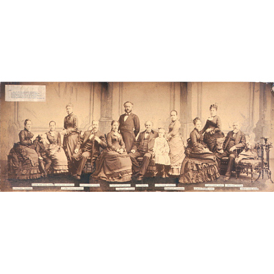 P. T. Barnum and Family