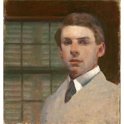 Charles Sydney Hopkinson Self-Portrait
