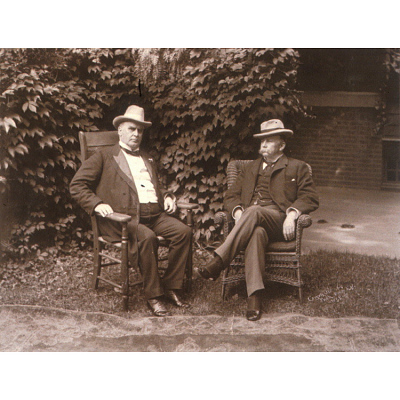 William McKinley and Garret Augustus Hobart