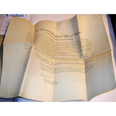 Calvin Coolidge's autograph