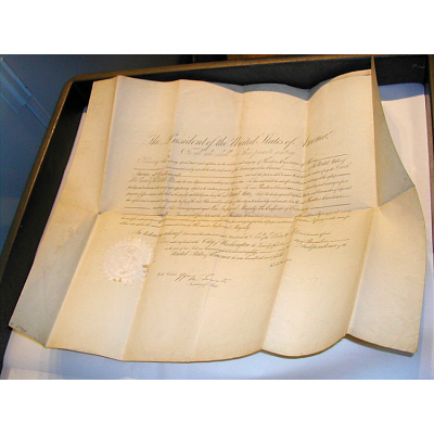 Rutherford B. Hayes' autograph