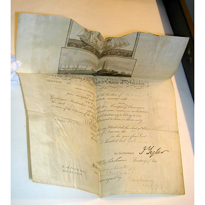 John Tyler's autograph