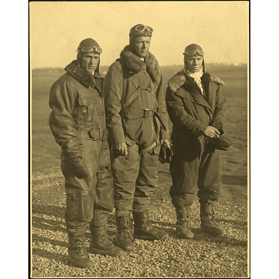 Charles Lindbergh, Philip Love and Thomas P. Nelson
