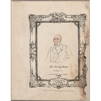 Image of The National Plumbeotype Gallery - John Quincy Adams