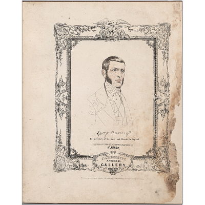 The National Plumbeotype Gallery - George Bancroft