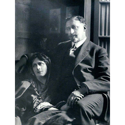 Isadora Duncan and Paris Singer