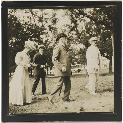 Samuel Clemens and Henry Huttleston Rogers
