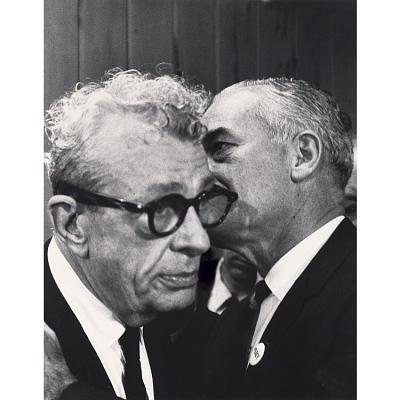 Barry Goldwater and Everett Dirksen