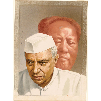Pandit Nehru and Mao Tse-tung