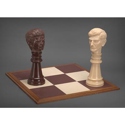 Bobby Fischer and Boris Spassky