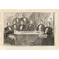 Image of The Cabinet of the Confederate States at Montgomery